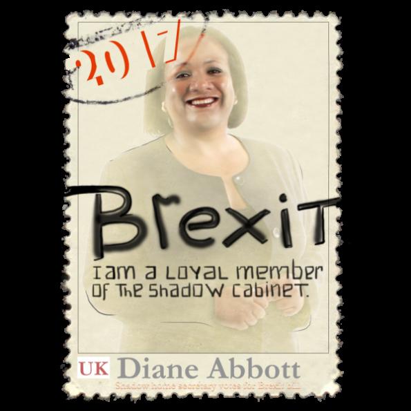 Diane Abbott Politics Design Stamp