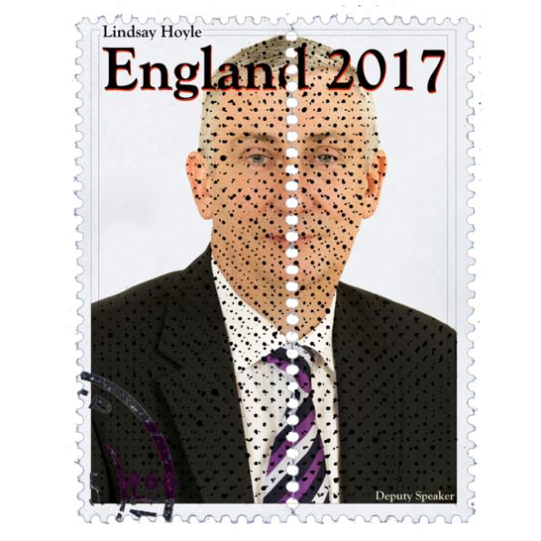 Lindsay Hoyle Politics Design Stamp