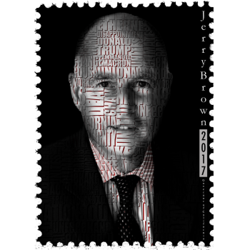 Jerry Brown Politics Design, Carlos Simpson Design