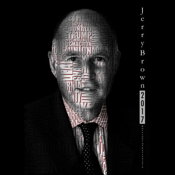 Jerry Brown Politics Design, Carlos Simpson Design